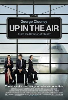 """Up in the Air on DVD March 2010 starring George Clooney, Anna Kendrick, Vera Farmiga. From Jason Reitman, the Oscar® nominated director of """"Juno,"""" comes a comedy called """"Up in the Air"""" starring Oscar winner George Clooney as Streaming Movies, Hd Movies, Movies To Watch, Movies Online, Movies And Tv Shows, Hd Streaming, Movies Free, Film Watch, Anna Kendrick"""