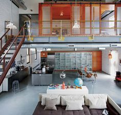 Cool Studio Apartments An Awesome Apartment Interior Warehouse Home Living