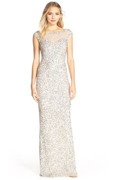 82f846b1aa Parker Black  Jennifer  Embellished Illusion Gown available at  Nordstrom
