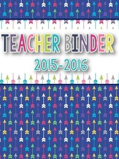 FREEBIE! This 2015-2016  teacher binder set includes 2 binder covers, 19 dividers(1 blank). This set is not editable.  Graphics by Teaching Super PowerFonts by Kimberly Geswein =======================================================Looking for fun and informative activities for FIRE SAFETY WEEK?