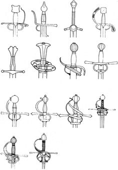 Types of Sword Hilts