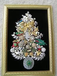 Image result for crafts with old costume jewelry