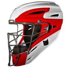 ALL-STAR MVP2510WTT Two Tone Youth Catchers Helmet
