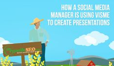 How a social media manager is using Visme to create presentations for her marketing ideas and sales marketing