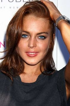 Lindsay Lohan Red Hair .