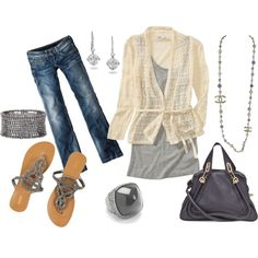 A touch of class, created by jayneann1809.polyvore.com