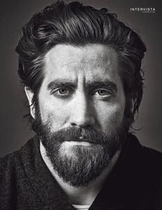 jake gyllenhaal my love actor america newyork ny soon happy life Hair And Beard Styles, Long Hair Styles, Photographie Portrait Inspiration, Face Photography, Portrait Sketches, Foto Art, Face Expressions, Jake Gyllenhaal, Celebrity Portraits