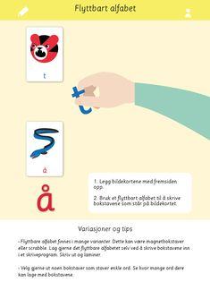 Bokstaver og språkleker i samme materiell! Alfabet første lyd kan brukes på en rekke ulike måter for å øve på bokstaver og språk.   Språkleker, norsk, 1.trinn, bildekort, undervisning, lese, læremateriell, bokstaver, alfabet Thing 1, Product Page, Map, Maps, Peta