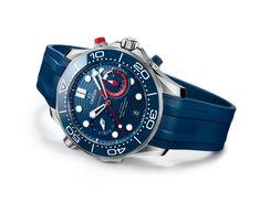 Omega Seamaster Diver 300M America's Cup Chronograph Omega Speedmaster Racing, Omega Seamaster Diver 300m, Richard Mille, Audemars Piguet, Auckland, Seiko, Swatch, Festina, Watch Blog