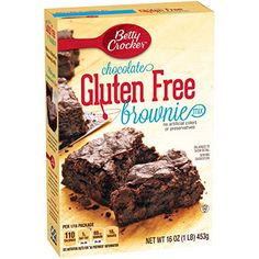 Betty Crocker Gluten Free Brownie Mix, 16-Ounce Boxes (Pack of 6) * Be sure to check out this awesome product.