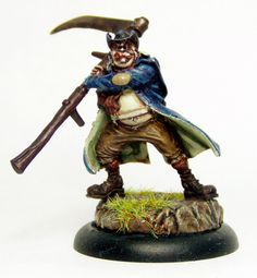 Malifaux Resurrectionists - Mortimer the Gravedigger Used Video Games, Statue Of Liberty, Horror, Liberty Statue, Rocky Horror