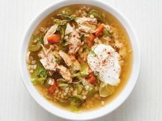 Chicken and Barley Soup Recipe | Food Network Kitchen | Food Network