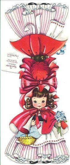 paper dolls from the 50s   paper doll de notre enfance