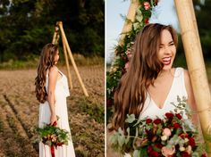 Our own DIY tipi Engagement Session ; Tipi Wedding, Wedding Engagement, Engagement Session, Wedding Hair And Makeup, Hair Makeup, Diy Tipi, Flowers Decoration, Elopement Ideas, Boho Bride