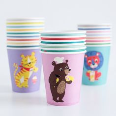 Party Animals Paper Cups – Shop Sweet Lulu