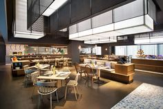 le meridien zhengzhou – part 2 Cafe Bar, Cafe Restaurant, Restaurant Design, Bar Lounge, Cafe Interior, Shop Interior Design, Hotel Buffet, Zhengzhou, Restaurant Furniture