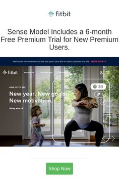 Sense Model Includes a 6-month Free Premium Trial for New Premium Users.