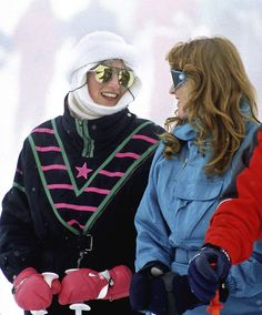 80s ski style is everything.