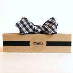 Hanks' Haberdashery Scotch Plaid Bow Tie