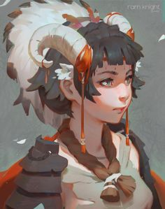 [Awesome Artist] · GUWEIZ Hi guys! Another Collection of illustrations, new awesome artist! © All images are cop Art And Illustration, Character Illustration, Character Concept, Character Art, Concept Art, Fantasy Kunst, Fantasy Art, Manga Art, Anime Art