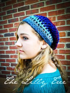 Slouchy Beanie Variegated Kureyon Wool Lightweight by thelillytree, $25.00