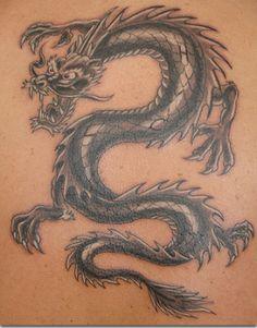 american traditional dragon tattoo - Google zoeken