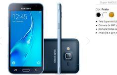 "Samsung Galaxy J3 Tela 5"" 8GB 4G Dual Chip Câmera Frontal Android 5.1 << R$ 53910 >>"