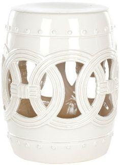 Glazed Ceramic Stool