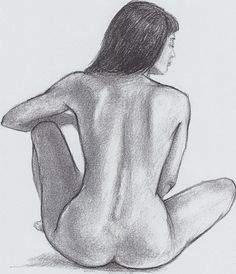 pen drawings of woman's back - Google Search