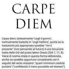 Qui ed ora Italian Phrases, Italian Quotes, Quotes Thoughts, Me Quotes, Magic Words, Bukowski, Book Reader, Life Motivation, Carpe Diem