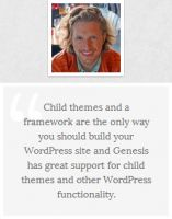 Genesis Theme Framework Endorsed by Matt Mullenweg-Founder of WordPress