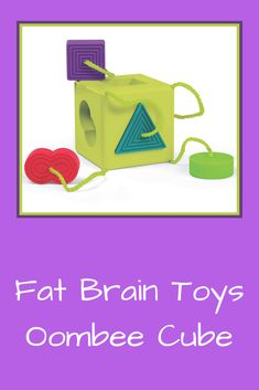 The cube itself is VERY soft, yet sturdy gel-like material. 1 Year Olds, Toddler Toys, Cube, Brain, Fat, The Brain, Kids Toys, Baby Toys