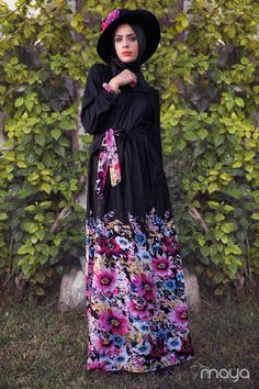 Maya square | Dahliya black floral dress #Abaya #Hijab www.mayasquare.com #mayasquareclothing #modeststyle #modesty #modestfashion #hijabfashion #hijabi #hijabifashion #covered #Hijab #dress #dresses #islamicfashion #modestfashion #modesty #modeststreestfashion #hijabfashion #modeststreetstyle #modestclothing #modestwear #ootd #springfashion #Mayasquare #covereddresses #scarves #hijab #style #hijabstyle #loose #loosecolthing #Eid #eidfashion #eidoccasionalwear #eiddresses