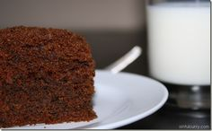 Whole Wheat Chocolate Cake...Yum!  http://www.sinfulcurry.com/whole-wheat-chocolate-cake/#