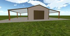 3D #architecture via @themuellerinc http://ift.tt/1TwfvLA #barn #workshop #greenhouse #garage #DIY