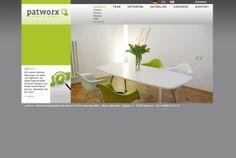 curlee true communication gestaltet die Webseite für patworx Patentanwälte, München