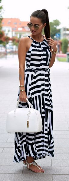 Maxi Dress / Fashion By Style And Blog