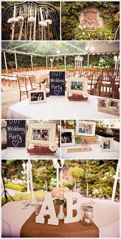Wedding Party Idea