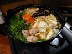 Japanese Hot Pot (O-Nabe)