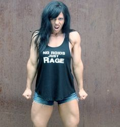 Image of No Roids Just Rage Women's Tank