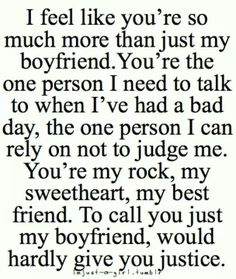 The way i feel about mine :)