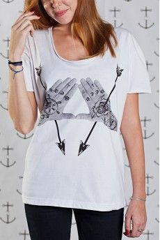 Camiseta Feminina Non Dvcor Maria Alta -  http://cincocincozero.com/top-nondvcor/top-feminino-non-dvcor-non-20-0007-02