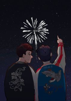 ::you and I were fire-fire-fireworks that went off too soon::