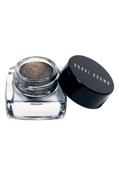 Bobbi Brown Long-Wear Metallic Cream Eyeshadow. The iridescent metallic shimmer in these shadows is so beautiful that it's like wearing an entire nebula on your eyelids.