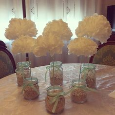 Paper flower, decoration for wedding. Low cost  Fiori di carta, decorazione per matrimonio a basso costo!