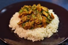 Čubina - pravá česká čína - servírujeme s rýží