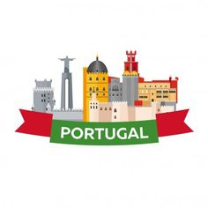Portugal Vetores de Stock, Ilustrações Vetoriais Free Portugal | Depositphotos® Portugal Highlights, Silhouettes, Travel Illustration, Thinking Day, And So The Adventure Begins, Portugal Travel, Instagram Highlight Icons, Story Highlights, Insta Story