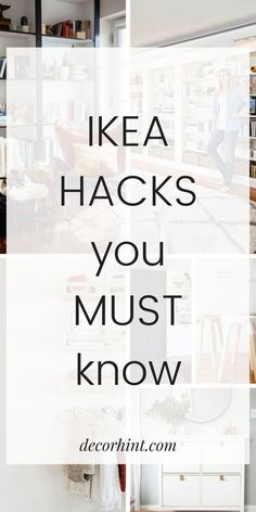 Seeing is believing. It is possible to DIY your own custom furniture affordably! Here are 7 amazing IKEA hacks you MUST know. Eco Furniture, Custom Furniture, Furniture Plans, Ikea Furniture Makeover, Furniture Movers, Pallet Furniture, Luxury Furniture, Do It Yourself Ikea, Ikea Decor