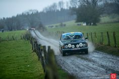 Volvo 144 in rally action