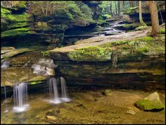 Hocking Hills, OH  As amazing as this picture is, you can't fully appeciate it's beauty unless you are there.
